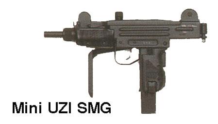 Armes de fabrication Israelienne Uzimini_b